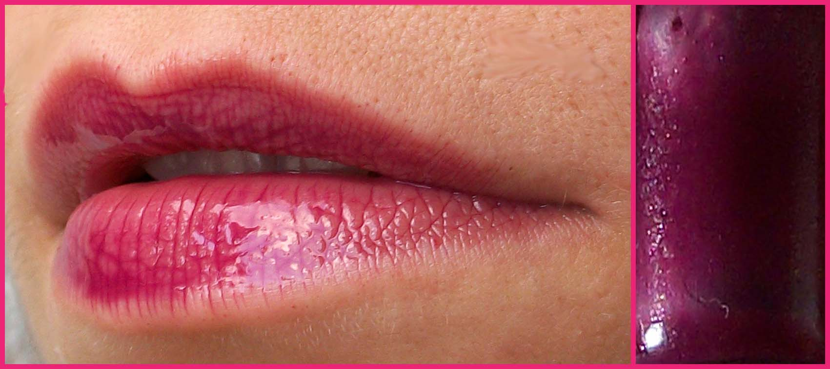 immagine lip gloss ciclamino fatto in casa homemade sfumaturemakeup & beauty
