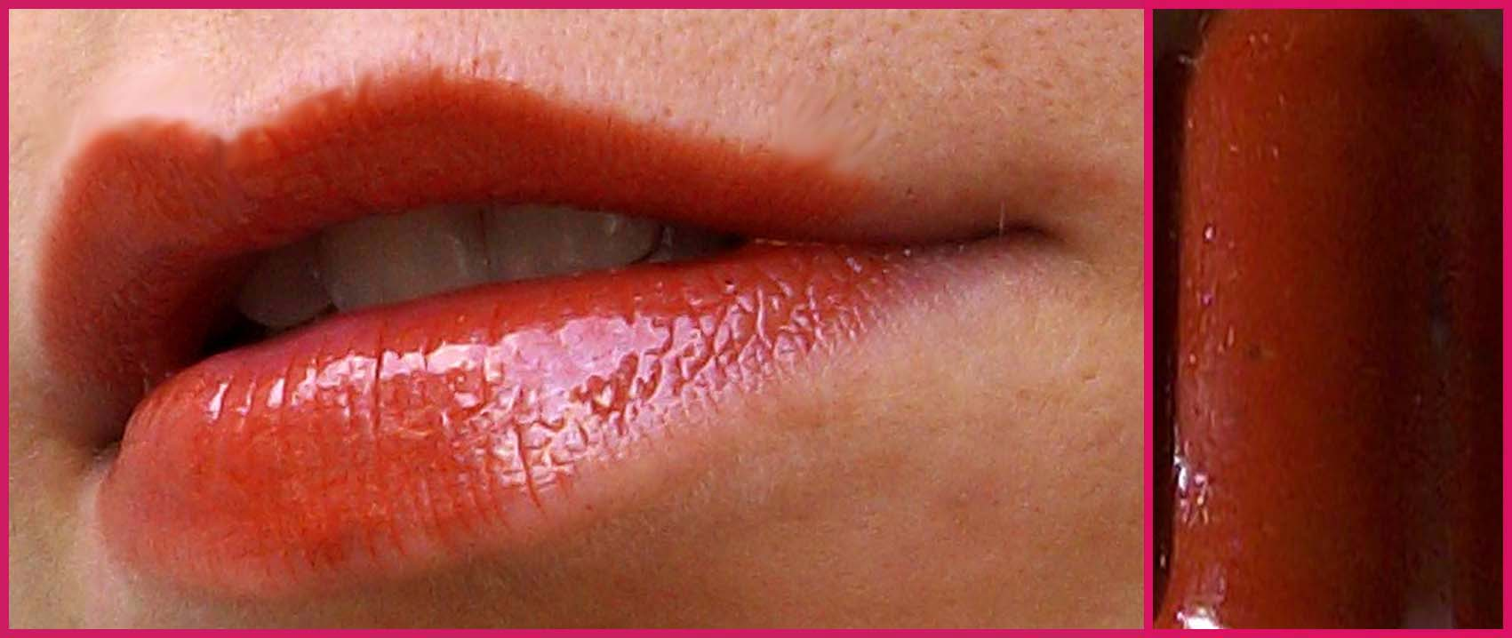 immagine lipgloss mattone fatto in casa homemade sfumaturemakeup & beauty
