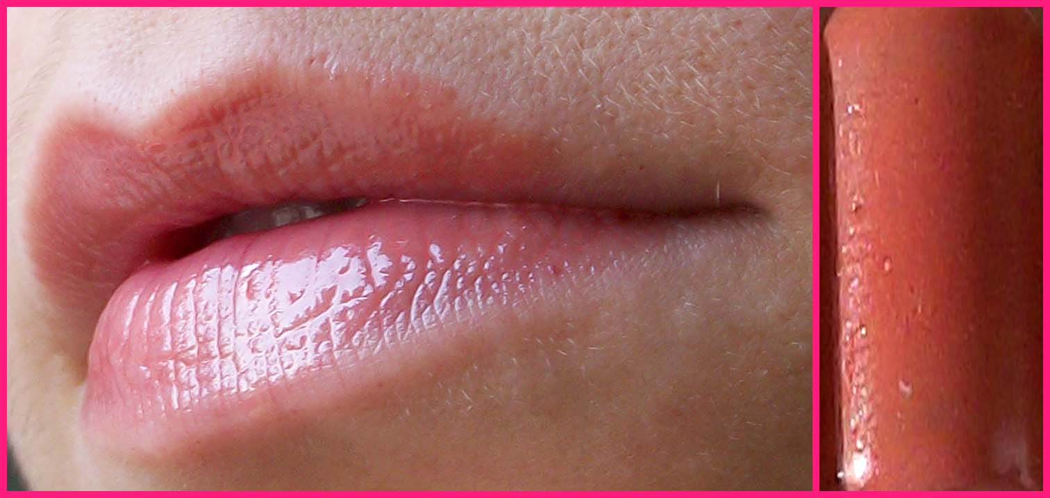 immagine lip gloss nude fatto in casa homemade sfumaturemakeup & beauty