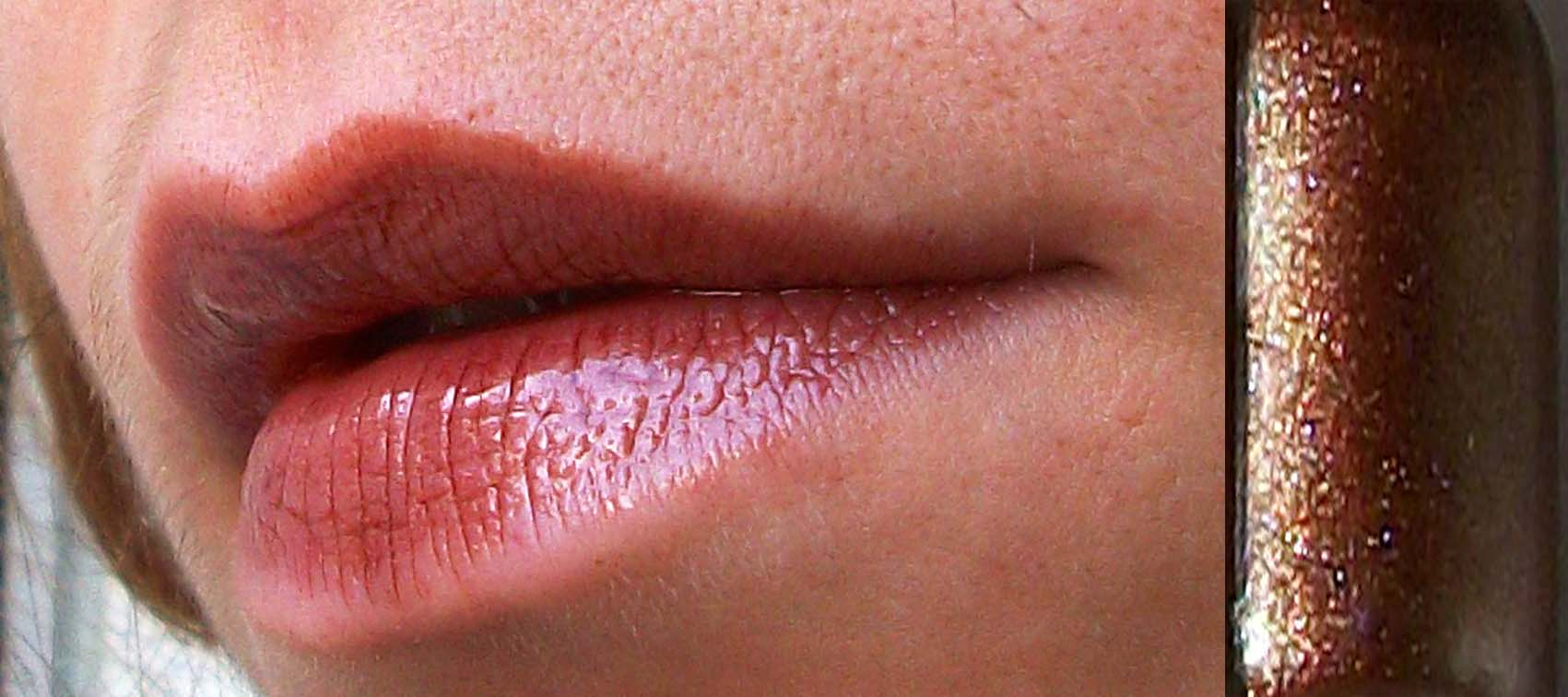 immagine lipgloss rame fatto in casa homemade sfumaturemakeup & beauty