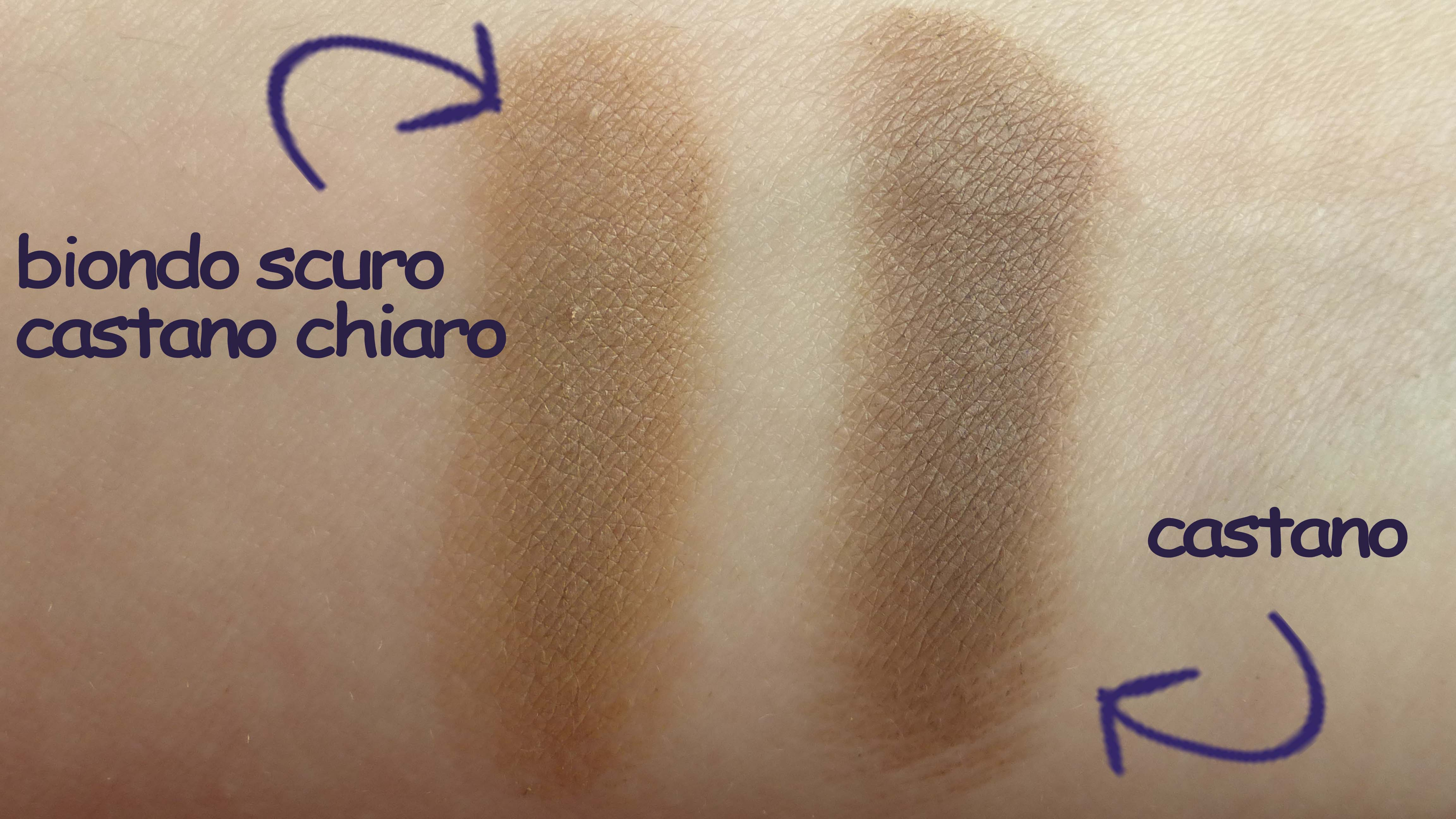 immagine swatch eyeliner for brows fatto in casa sfumaturemakeup & beauty